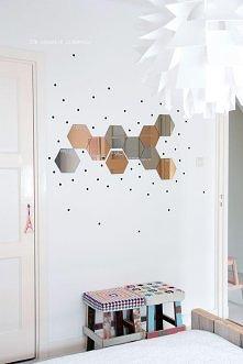 tak zrobię:) czarne kropki już zamówione :) Lusterka IKEA - 10 szt - 49 zł:)