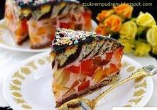 Cygańskie ściezki :) ciasto...