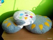 Poduszki z miękkiego filcu  Grube Nici zapraszają na fb, blogspot i allegro :)