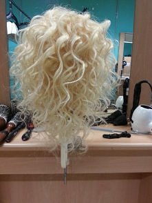 My own hair design at college