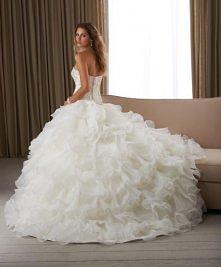 big puffy wedding dress