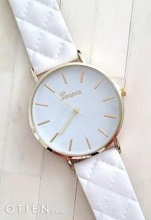 Zegarek OTIEN.com Cudowny z pikowanym paskiem!