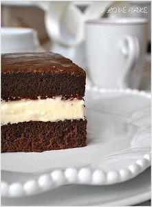 Ciasto mleczna kanapka *.*  PRZEPIS  SKŁADNIKI NA BISZKOPT:  6 jajek 1 szklanka cukru 1 szklanka mąki tortowej 1 łyżeczka proszku do pieczenia 3 łyżki kakao szczypta soli  SKŁAD...