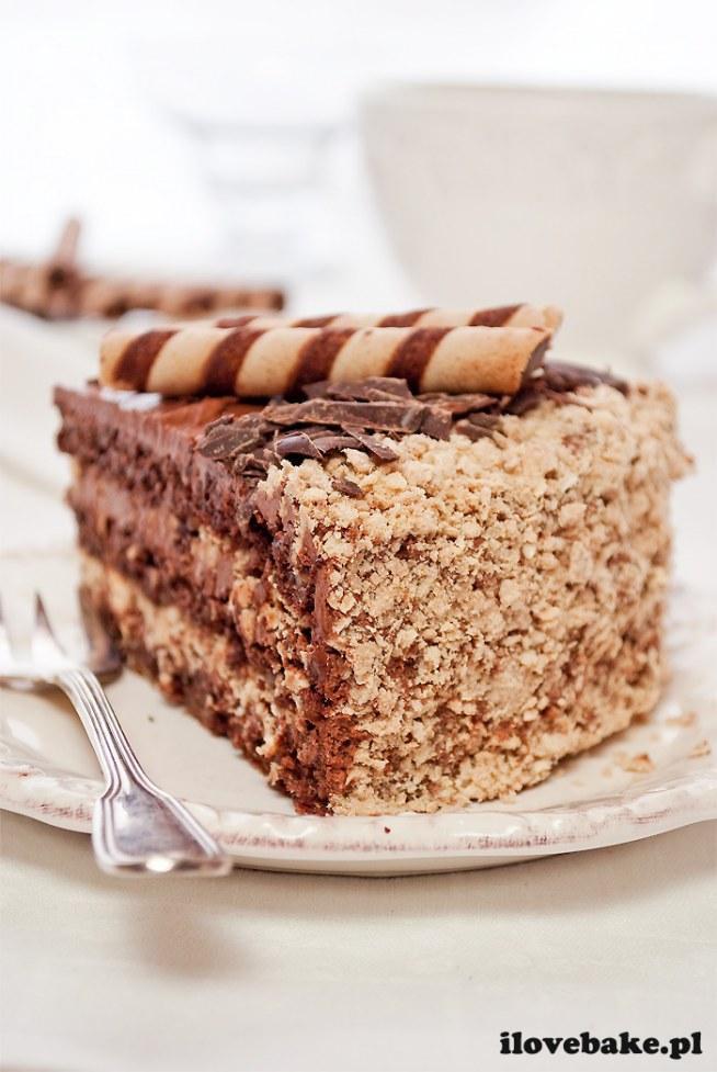 Ciasto Ferrero Rocher - tutaj przepis ilovebake.pl