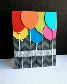 balonikowa kartka :)