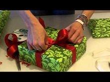 jak wiązać prezenty - 2 rodzaje kokard
