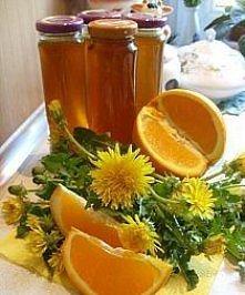 Miód - mniszek i pomarańcza (+przepis m.in. na chrzan)  Syrop z mniszka lekarskiego jest w ostatnim czasie bardzo popularny. Jedni używają go jako lekarstwo na przeziębienia, in...
