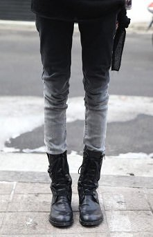 dip dye diy jeans