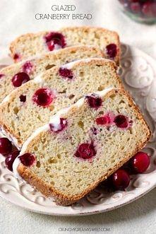 Slodki chleb z zurawina