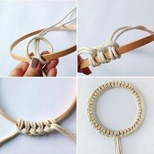 Pomysł na śliczną bransoletkę !
