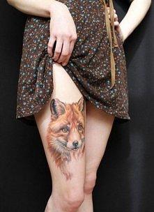 Tatuaż lis