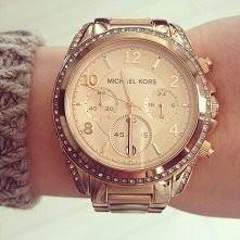 piękny złoty zegarek ♥ #zegarek #złoto #michaelkors