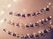 lampki ze zdjęciami