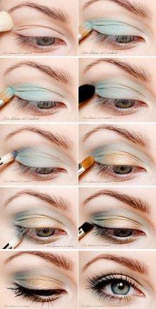 delikatny make up :)