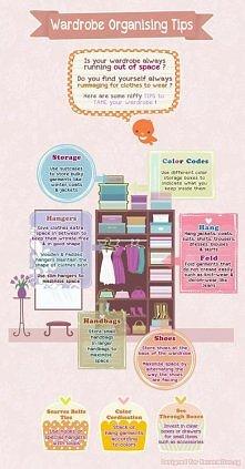 Wardrobe organizing tips