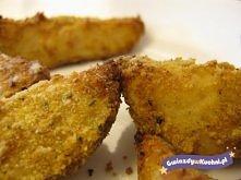 Przepis na proste i smaczne panierowane ziemniaki.  Ziemniaki panierowane to ...