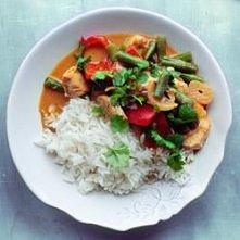 Kurczak curry z warzywami i...