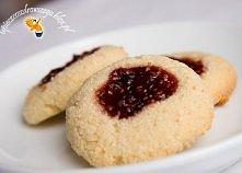 Pyszne ciastka z manny, bez mąki  Składniki (na 21 ciastek): -1 1/2 szklanki ...