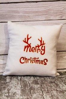Świąteczne poduszki :)  biuro@betahaft.pl