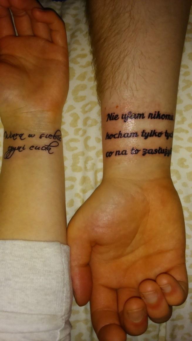 Mój Drugi I Chłopaka Pierwszy Na Tatuaże 3 Zszywkapl