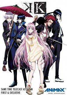 """K-Project:  Oryginalne anime przygotowywane przez Studio GoHands oraz """"grupę ..."""