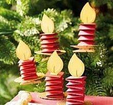 mw. świeczki na choinkę