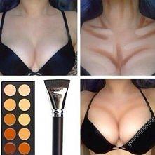 Chcesz mieć duży, seksowny biust w kilka minut? Zero sztuczności i operacji plastycznych! Wystarczy tylko odpowiedni makijaż i efekt jest piorunujący! :)
