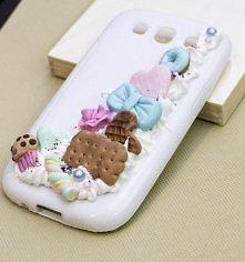 Obudowa do telefonu - Twoje wymarzone, slodkie etui ( na zdjeciu Samsung Galaxy s3) Kazdy model telefonu do wykonania!  Link w komentarzu