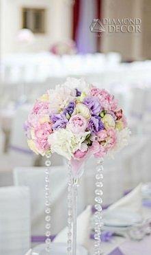 Bukiet na stół weselny