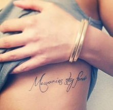 Wspomnienia zostają na zawsze.