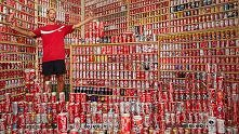 Największa kolekcja puszek Coca Coli