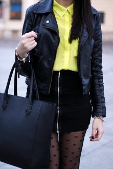 black and yellow!