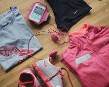 Fajny komplet do biegania