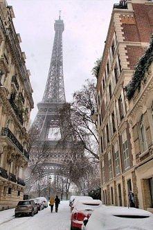 Śnieg w Paryżu