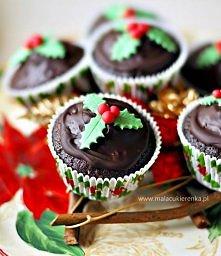 Babeczki czekoladowo – poma...