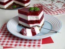 Torcik malinowo-jogurtowy  Składniki:  spód      160 g herbatników     3 łyżki nutelli (pełne)  warstwa jogurtowa:      740 ml jogurtu naturalnego     160 g serka danio     5 ły...