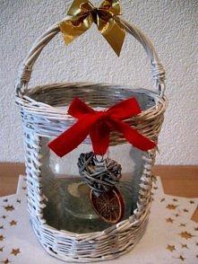 Mój pomysł na latarenkę Bożonarodzeniową :) Wkrótce więcej na inspiracjepajuj...