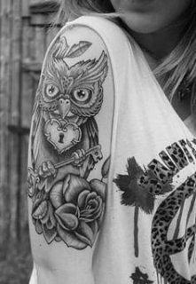Tatuaż sowa