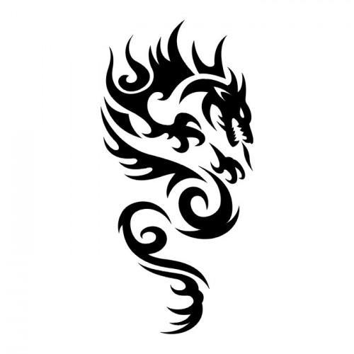 Wzór Smoka Na Wzory Tatuaży Zszywkapl