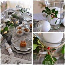szarości na bożonarodzeniowym stole
