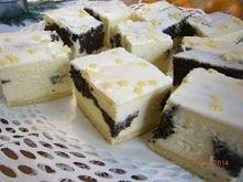 Ciasto serowo-makowe. CIASTO SEROWO - MAKOWE ....KRUCHE CIASTO : 1 szklanka i...