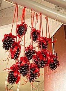 szyszki dekoracyjne