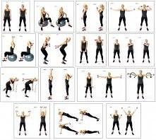 ćwiczenia na ramiona