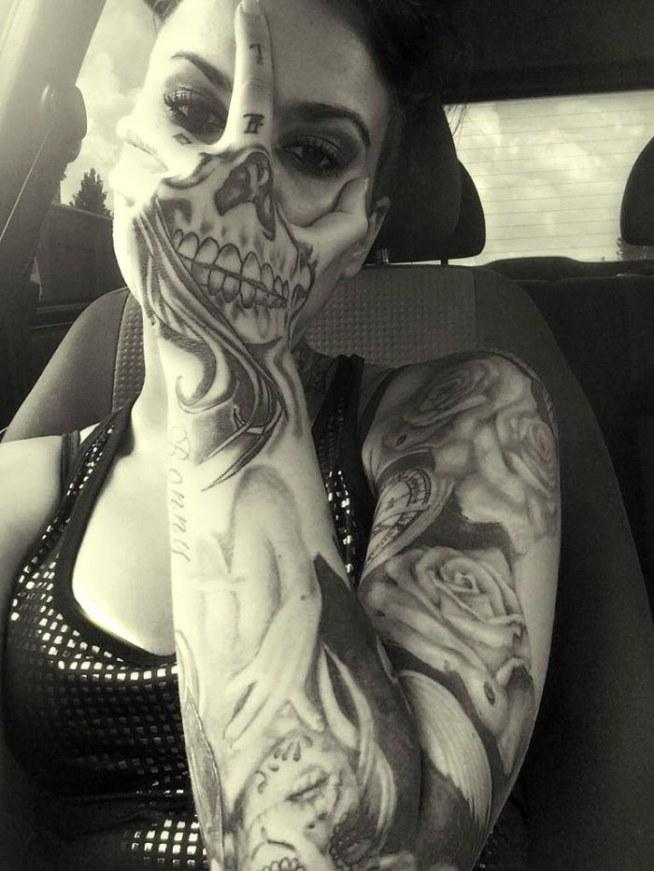 Tatuaż Na Ręce Na Tatuaże Zszywkapl