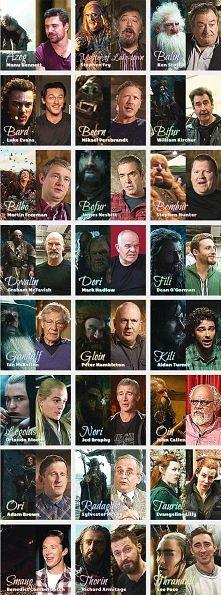 Bohaterowie Hobbita