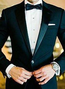 Piękny garnitur na ślub!
