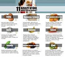 Co jeść po treningu ?