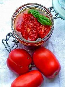 Pieczone pomidory w oleju