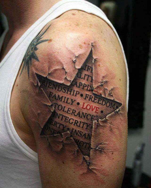 Gwiazda Na Tatuaże Zszywkapl
