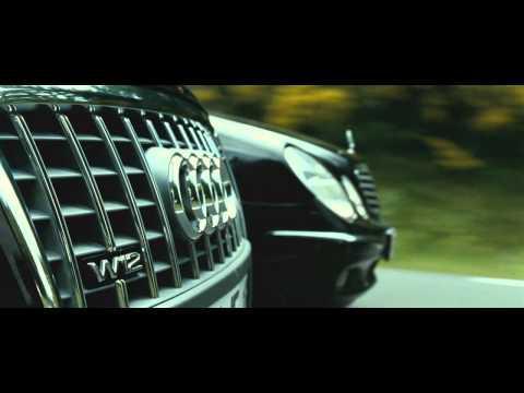 Jason Statham  TRANSPORTER 3 - Audi A8 vs. Mercedes E-class